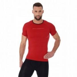 BRUBECK 3D Run PRO koszulka męska czerwona