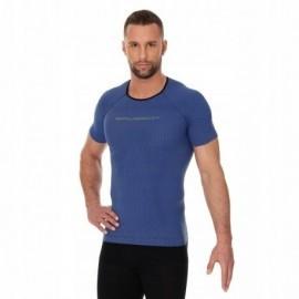 BRUBECK 3D Run PRO koszulka męska niebieska