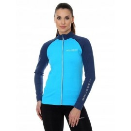 BRUBECK ATHLETIC bluza damska niebieski/granatowy