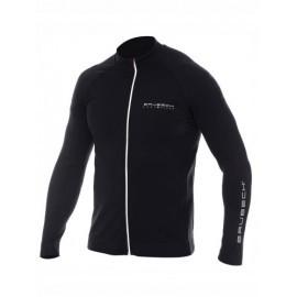 BRUBECK ATHLETIC bluza termo męska czarna