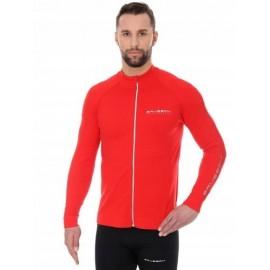 BRUBECK ATHLETIC bluza termo męska czerwona