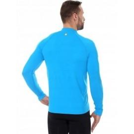 BRUBECK ATHLETIC bluza termo męska niebieska