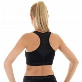 BRUBECK ATHLETIC CROP top FITNESS czarny