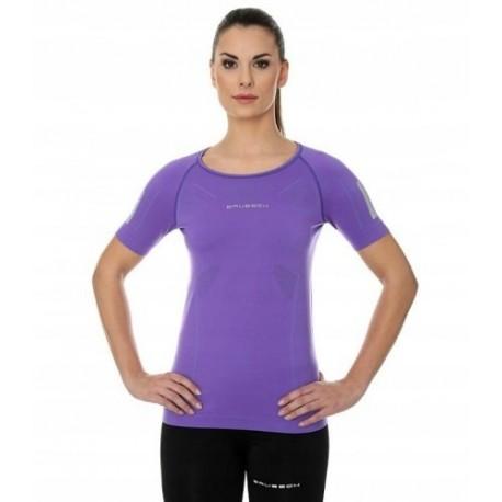 BRUBECK ATHLETIC koszulka damska fioletowa