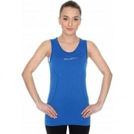 BRUBECK ATHLETIC koszulka damska niebieska