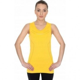 BRUBECK ATHLETIC koszulka damska żółta