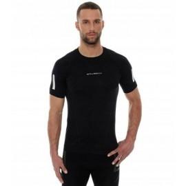 BRUBECK ATHLETIC męska koszulka czarna