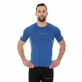 BRUBECK ATHLETIC męska koszulka ciemnoniebieska